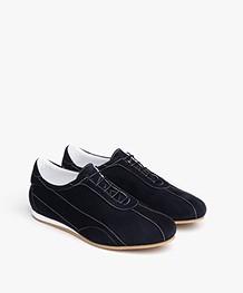 Panara Slim Suede Sneakers - Marina