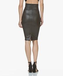 93f604cba SPANX® Faux Leather Pencil Skirt - Very Black - spx 20190r 99990 - very