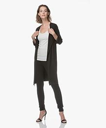 Kyra & Ko Fee Jersey Lang Vest - Zwart