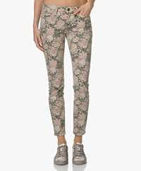 Current/Elliott The Stiletto Printed Skinny Jeans - Phoenix Floral