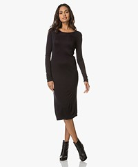 Majestic Filatures Jersey Dress - Marine