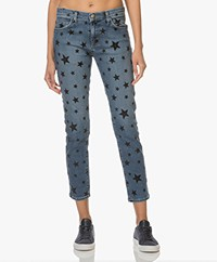 Current/Elliott The Fling Printed Jeans - Flocked Star