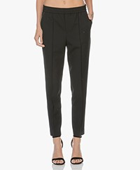Filippa K Fiona Peg Tapered Pants - Black