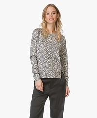 Ragdoll LA Mini Leopard Sweatshirt - Beige Leopard