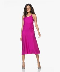 Filippa K Silk Halter Dress - Orchid
