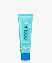 COOLA Classic Face Organic Sunscreen Lotion SPF 30 - Unscented