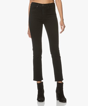 Rag & Bone High-rise Cigarette Jeans - Coal