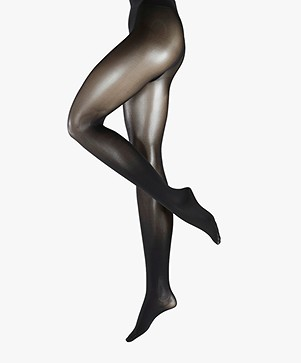 FALKE Matt Deluxe 30 Den Tights - Black