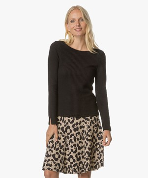 Josephine & Co Anouk Structured Long Sleeve  - Black