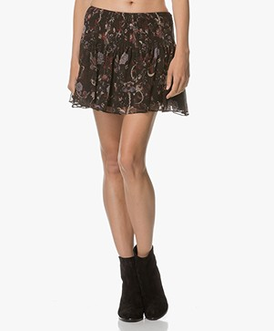 Magali Pascal Marcie Mini Skirt - Black Phoenix