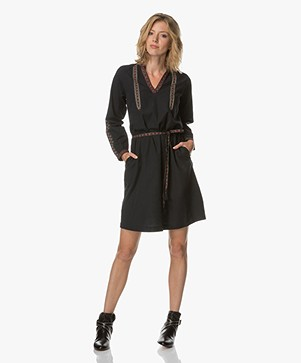 MKT Studio  Rilka Tunic Dress - Black