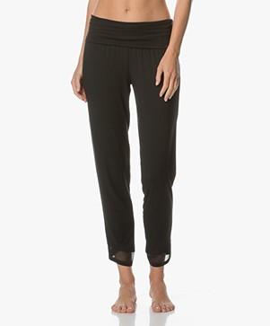Calvin Klein Pajama Pants in Modal Jersey - Black