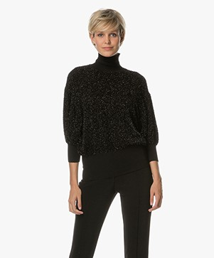 By Malene Birger Anwerpa Lurex Pullover - Black