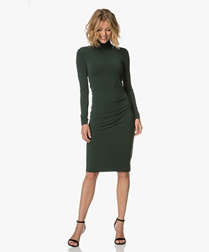 By Malene Birger Fitted Dress - Scarab Green
