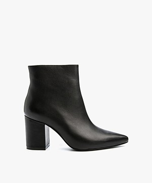 ANINE BING Natalie Leather Boot - Black