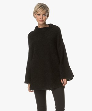 By Malene Birger Mohair Pullover - Black