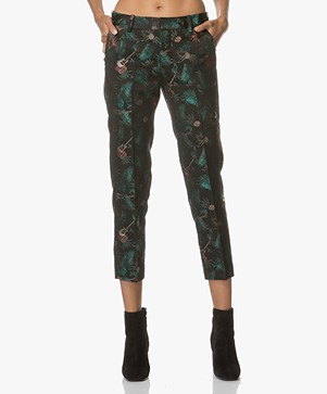 Zadig et Voltaire Very Jungle Pantalon - Zwart/Multicolored