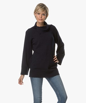 Marie Sixtine Chris Wool Blend Sweater - Sailor