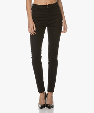 Indi & Cold Skinny Trousers - Black