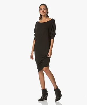 Baukjen Josephina Jersey Midi Dress - Caviar Black