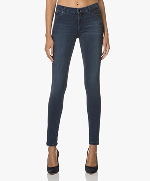 HUGO Georgina Super Skinny Jeans - Navy