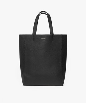 ANINE BING Paris Tote with Shoulder Strap - Black