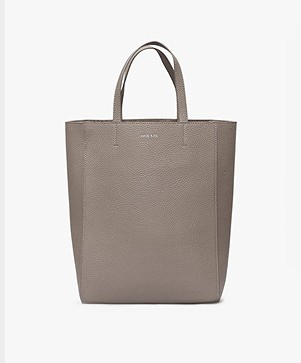 ANINE BING Paris Tote with Shoulder Strap - Taupe
