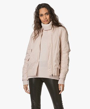 Filippa K Bentley Bomber Jacket - Blush