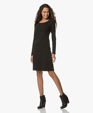 Filippa K Open Neck Dress - Black