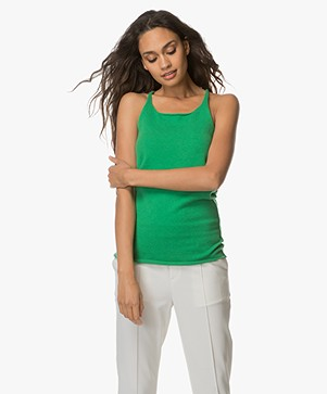 extreme cashmere N°58 Invisible Cashmere Tank Top - Pom