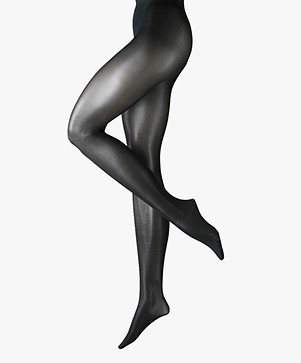 FALKE Seidenglatt 40 Denier Tights - Black