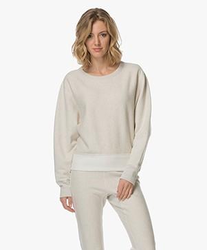 Rag & Bone Color Blocked Racer Sweater - Earl Grey