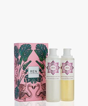REN Clean Skincare Rose to the World Gift Set