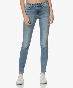 Drykorn Pull Skinny Jeans - Mid Blue
