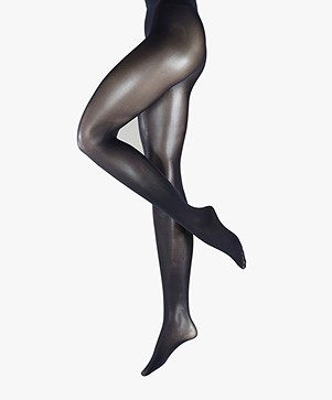 FALKE Matt Deluxe 30 Den Tights - Marine