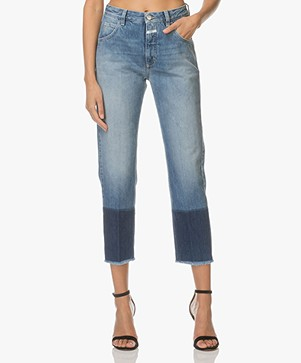 Closed Heartbreaker Girlfriend Jeans - Mid Salt And Pepper