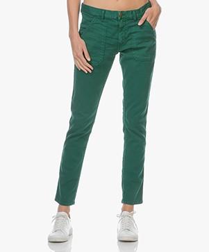 ba&sh Sally Girlfriend Jeans - Groen