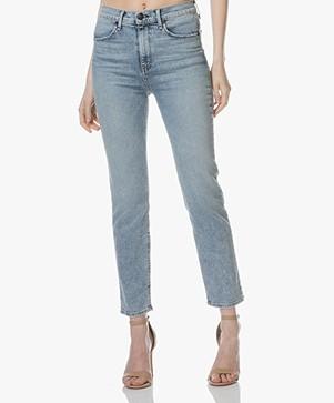 Rag & Bone High-rise Cigarette Jeans - Double Down