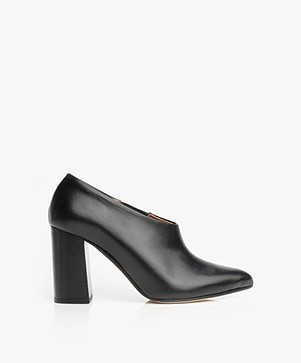 ATP Atelier Breia Leather Low-cut Ankle Boots - Black