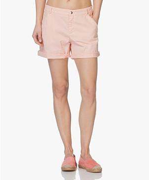 BOSS Sochily Katoenen Short - Pastel Roze