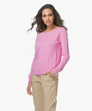 Closed Cashmere Pullover - Flamingo Pink
