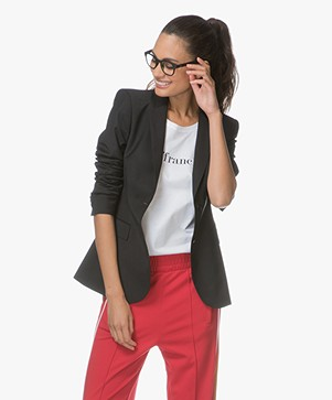 Filippa K Eve Cool Wool Blazer - Black