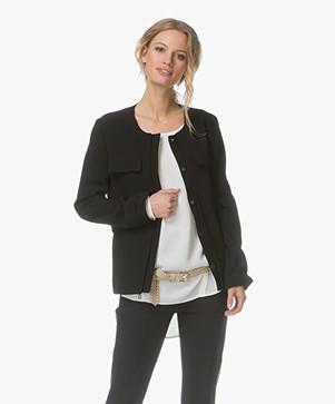 Filippa K Harper Utility Jacket - Zwart