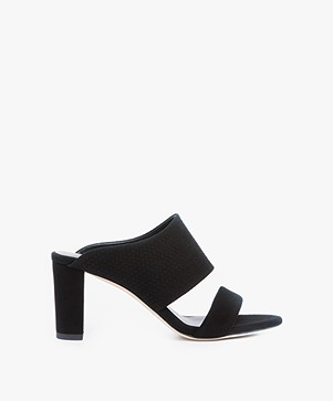 Filippa K Lara Mule in Suede - Braided Black