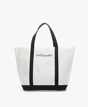 Vanessa Bruno Aaffranchie Canvas Shopper - Wit