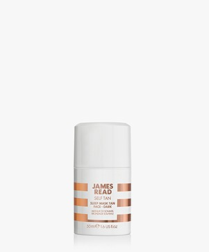 James Read Tan Sleep Mask Tan Face - Donker