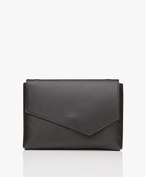 Matt & Nat Riya Vintage Clutch/Shoulder Bag - Black