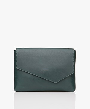 Matt & Nat Riya Vintage Clutch/Schoudertas - Emerald