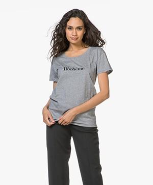 Vanessa Bruno Bbohème T-Shirt - Grijs Mêlee