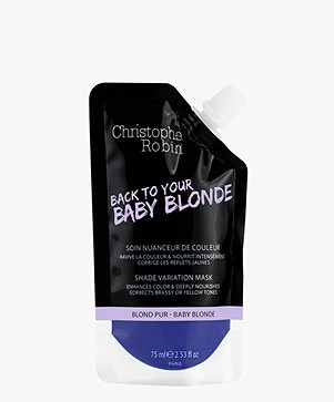 Christophe Robin Baby Blonde Shade Variation Mask Travel Size - 75ml